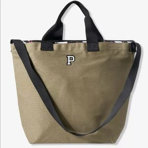 *WITH TAGS* PINK canvas carryall tote/cooler combo